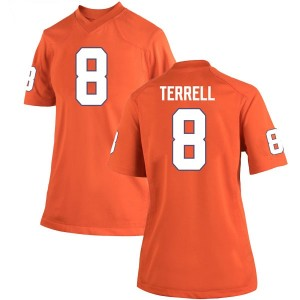 A.J. Terrell Nike Clemson Tigers Women's Game Team Color College Jersey - Orange