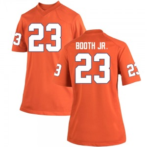 Andrew Booth Jr. Nike Clemson Tigers Women's Game Team Color College Jersey - Orange