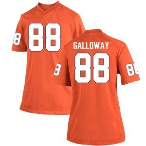 Braden Galloway Nike Clemson Tigers Women's Game Team Color College Jersey - Orange