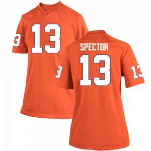 Brannon Spector Nike Clemson Tigers Women's Game Team Color College Jersey - Orange