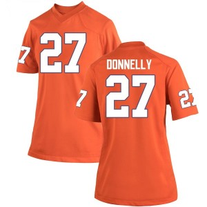 Carson Donnelly Nike Clemson Tigers Women's Game Team Color College Jersey - Orange