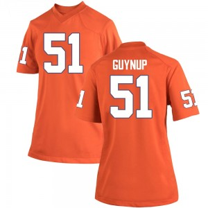 Chase Guynup Nike Clemson Tigers Women's Game Team Color College Jersey - Orange