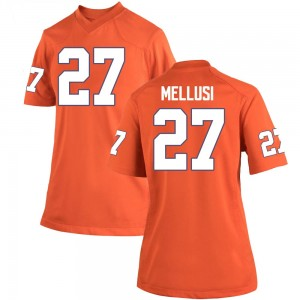 Chez Mellusi Nike Clemson Tigers Women's Game Team Color College Jersey - Orange