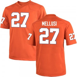 Chez Mellusi Nike Clemson Tigers Youth Game Team Color College Jersey - Orange