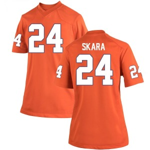 David Skara Nike Clemson Tigers Women's Replica Team Color College Jersey - Orange