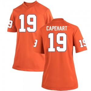 DeMonte Capehart Nike Clemson Tigers Women's Game Team Color College Jersey - Orange