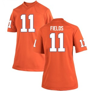 Isaac Fields Nike Clemson Tigers Women's Replica Team Color College Jersey - Orange