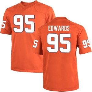 James Edwards Nike Clemson Tigers Youth Replica Team Color College Jersey - Orange