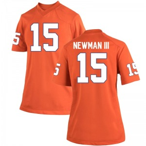 John Newman III Nike Clemson Tigers Women's Game Team Color College Jersey - Orange