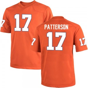 Kane Patterson Nike Clemson Tigers Men's Replica Team Color College Jersey - Orange