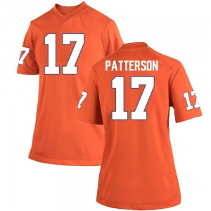 Kane Patterson Nike Clemson Tigers Women's Replica Team Color College Jersey - Orange