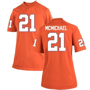 Kyler McMichael Nike Clemson Tigers Women's Replica Team Color College Jersey - Orange