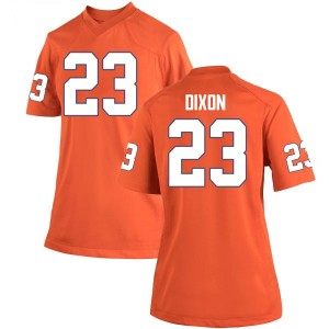 Lyn-J Dixon Nike Clemson Tigers Women's Replica Team Color College Jersey - Orange