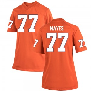 Mitchell Mayes Nike Clemson Tigers Women's Game Team Color College Jersey - Orange