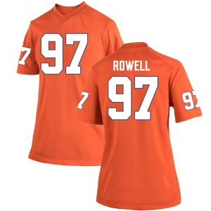 Nick Rowell Nike Clemson Tigers Women's Game Team Color College Jersey - Orange