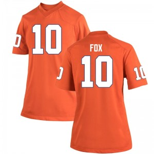 Parker Fox Nike Clemson Tigers Women's Game Team Color College Jersey - Orange