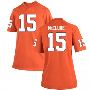 Patrick McClure Nike Clemson Tigers Women's Game Team Color College Jersey - Orange