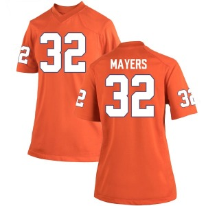 Sylvester Mayers Nike Clemson Tigers Women's Game Team Color College Jersey - Orange