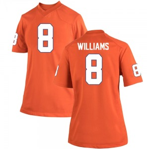 Tre Williams Nike Clemson Tigers Women's Game Team Color College Jersey - Orange