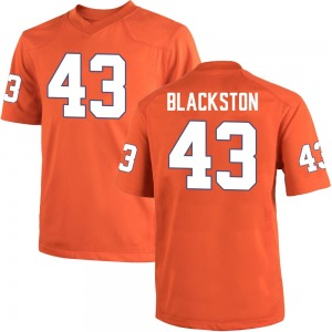 Will Blackston Nike Clemson Tigers Youth Replica Team Color College Jersey - Orange