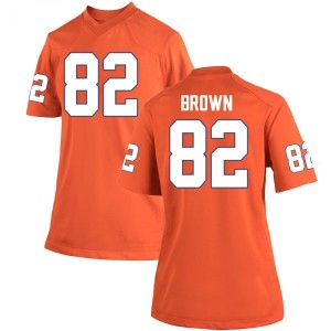 Will Brown Nike Clemson Tigers Women's Game Team Color College Jersey - Orange