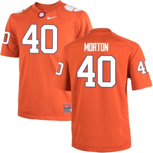 Hall Morton Nike Clemson Tigers Men's Authentic Team Color Jersey  -  Orange