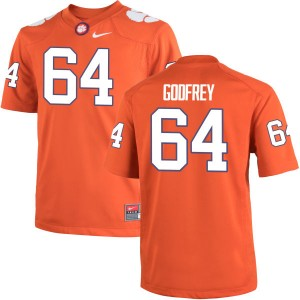 Pat Godfrey Nike Clemson Tigers Men's Authentic Team Color Jersey  -  Orange