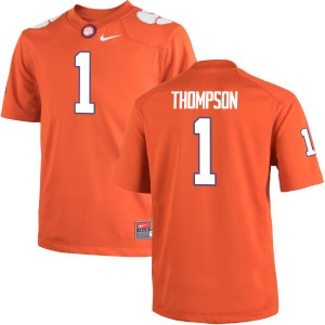 Trevion Thompson Nike Clemson Tigers Men's Authentic Team Color Jersey  -  Orange