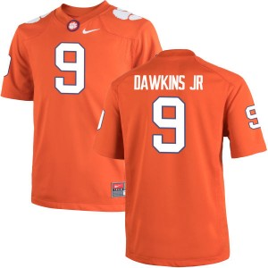 Brian Dawkins Jr. Nike Clemson Tigers Youth Authentic Team Color Jersey  -  Orange