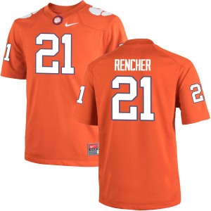 Darien Rencher Nike Clemson Tigers Youth Authentic Team Color Jersey  -  Orange